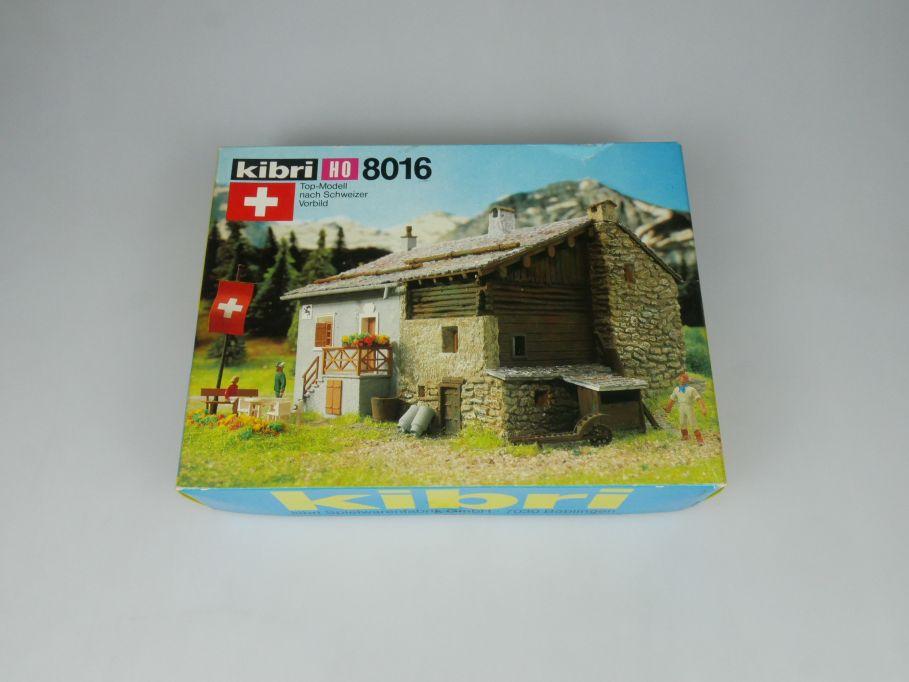 Kibri H0 8016 B-8016 Berggasthaus Steinbock n. schweizer Vorbild Kit Box 113276