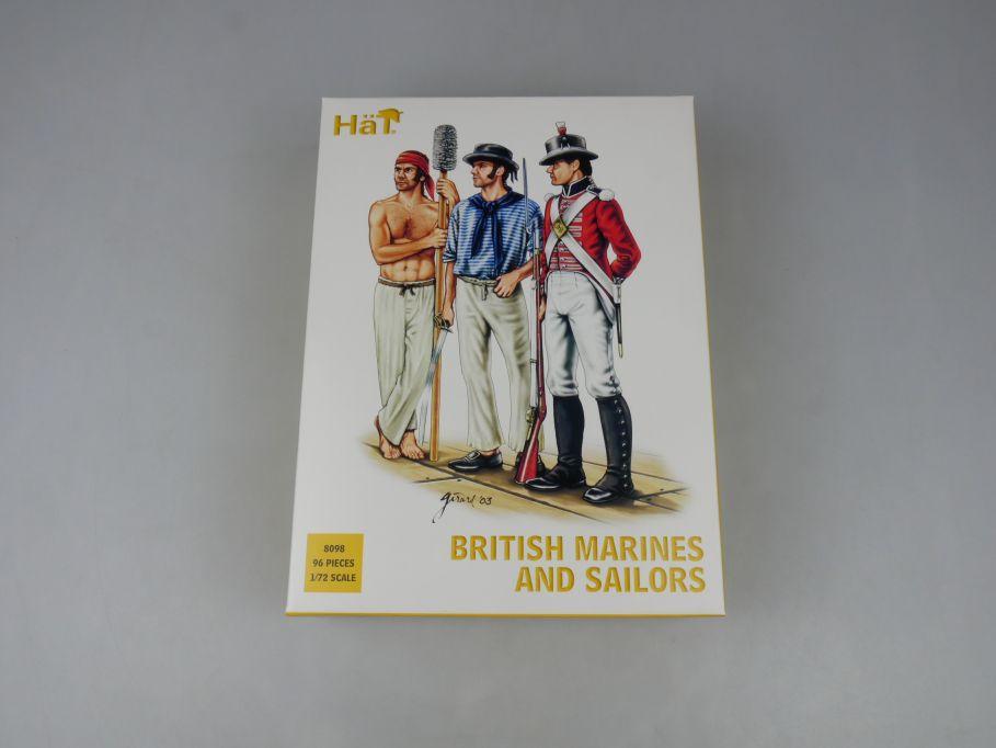 HÄT 1/72 8098 British Marines and Sailors figures Figuren kit Box 113285