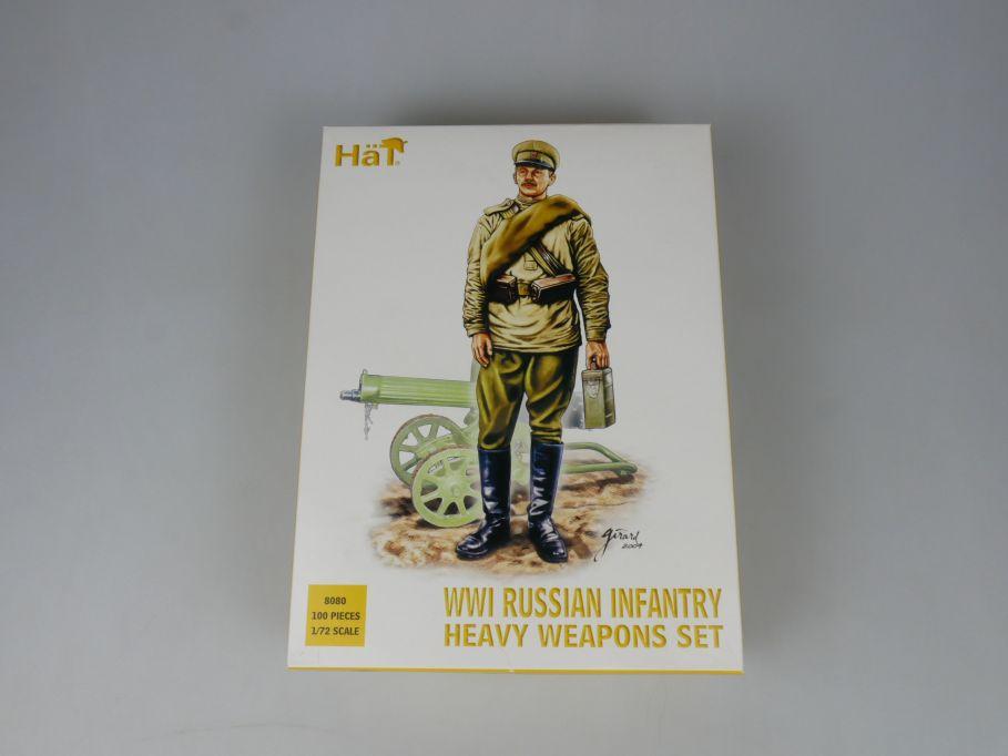 HÄT 1/72 8080 WWI Russian Infantry heavy weapons figures Figuren kit Box 113288
