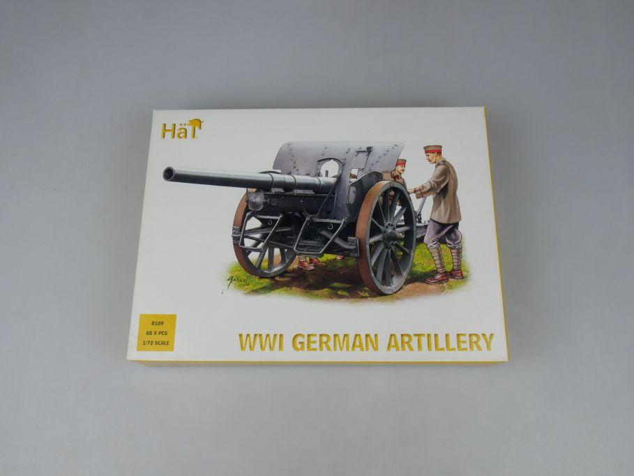 HÄT 1/72 8109 WWI German Artillery Dt. Artillerie figures Figuren kit Box 113290