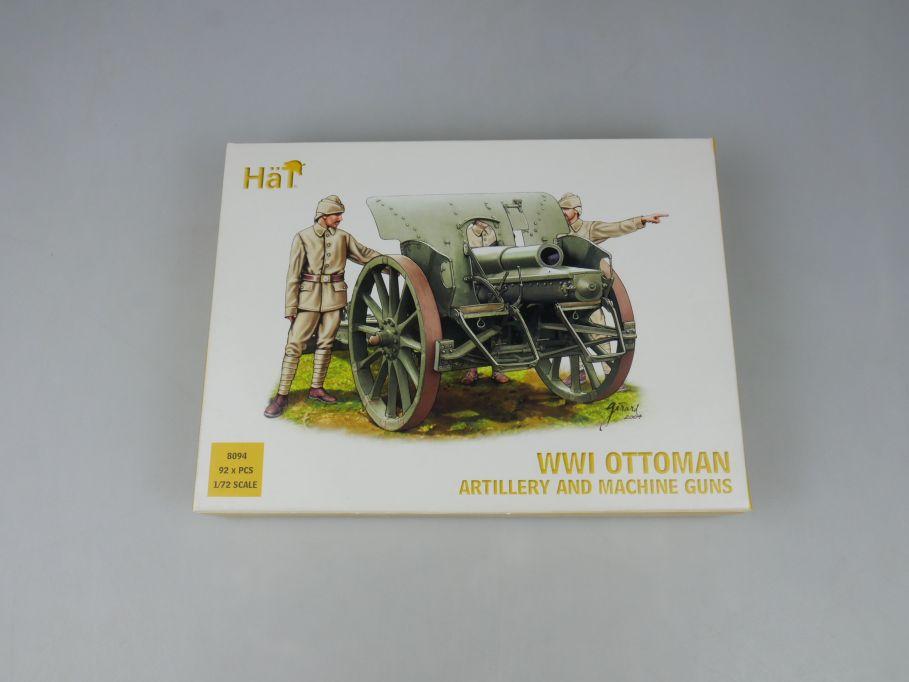 HÄT 1/72 8094 WWI Ottoman Artillery and machine guns Figures kit Box 113291