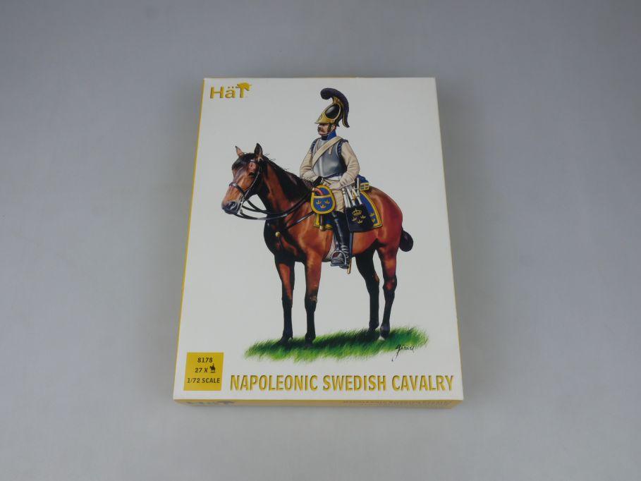 HÄT 1/72 8178 Napoleonic Svedish Cavalry Schwedische Kavallerie kit Box 113297