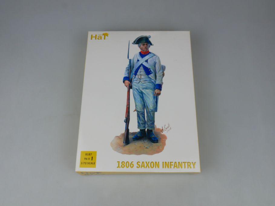 HÄT 1/72 8187 1806 Saxon Infantry Sächsische Infanterie Figures kit Box 113298