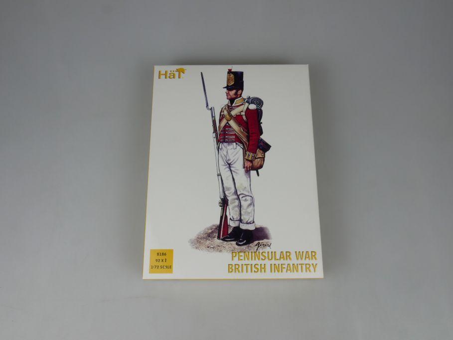 HÄT 1/72 8186 Peninsular War British Infantry Figures kit Box 113300