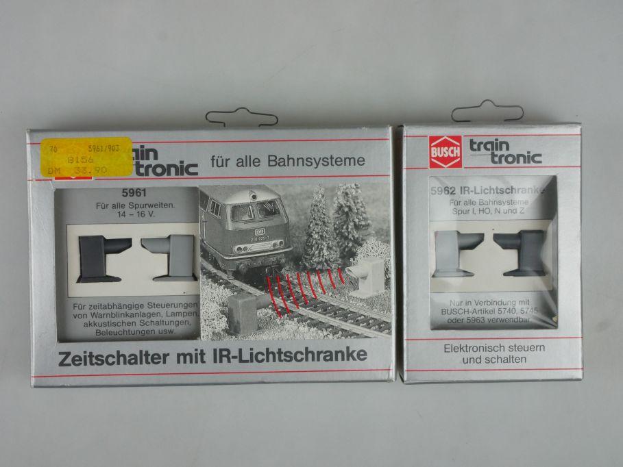 Busch 5961 5962 Zeitschalter mit IR Lichtschranke für alle Bahnsysteme 113254