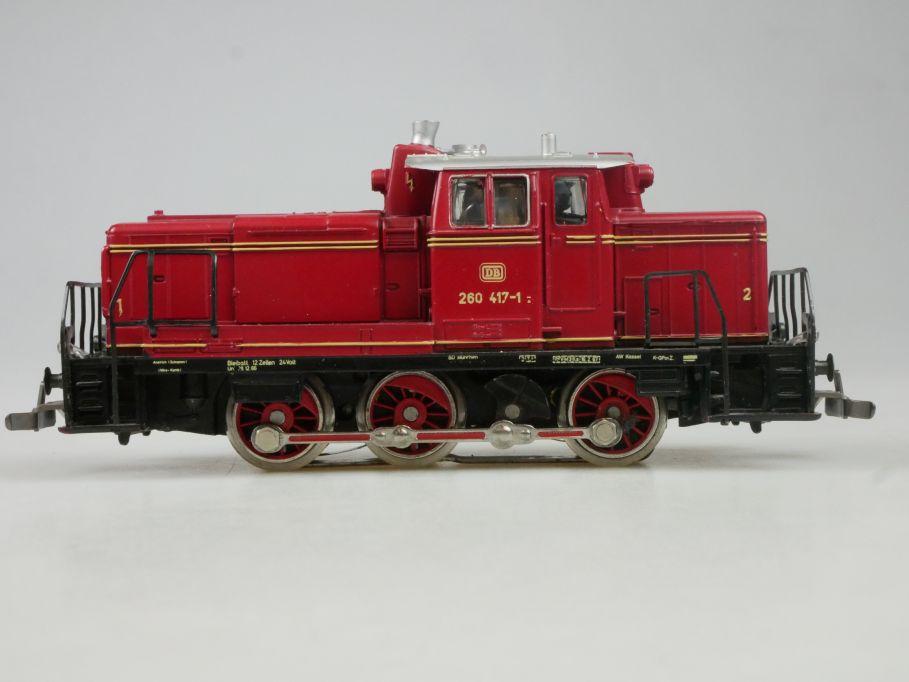 Märklin H0 AC 3065 BR 260 V60 der DB Telex Diesellok Lok 113259