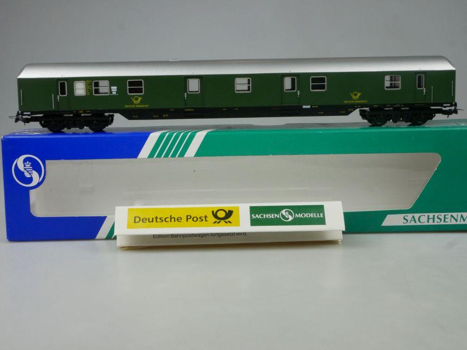 Sachsenmodelle Rocol Tillig H0 DC 74635 Bahnpostwagen DBP Ep III Box 113281