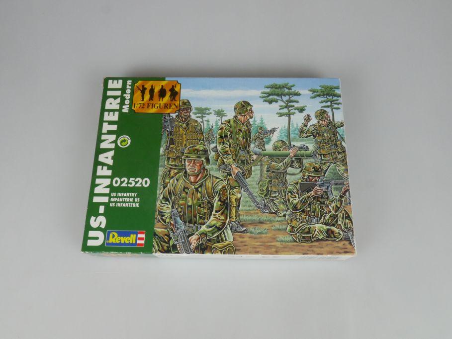Revell 1/72 02520 US Infantry Infanterie Soldaten Figuren kit Box 113313