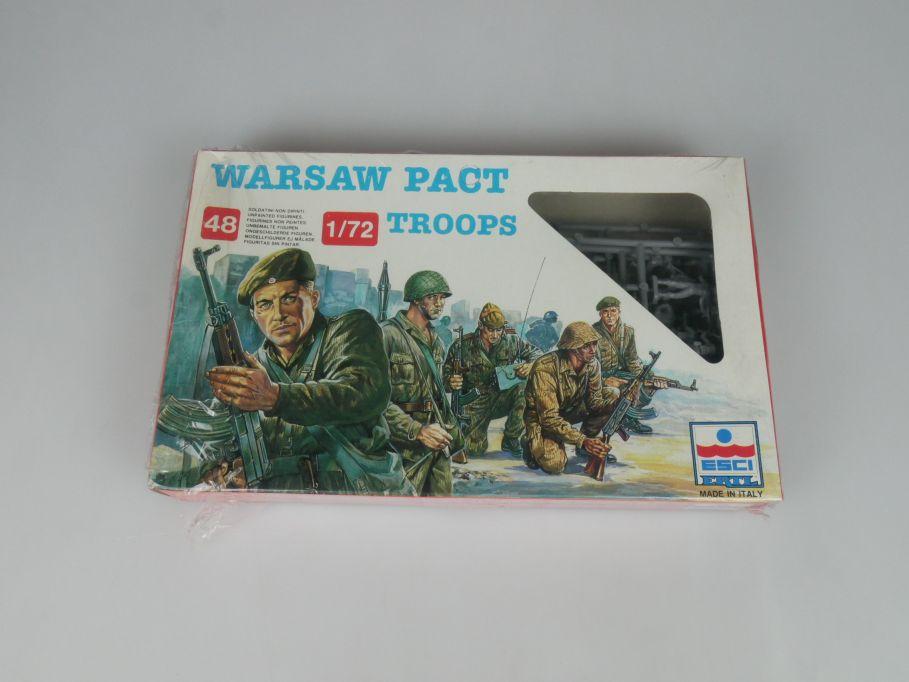 ESCI Ertl 1/72 242 Warsaw Pact Troops Figuren kit Box 113318