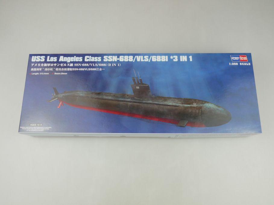 Hobby Boss 1/350 USS Los Angeles Class SSN-688 U-Boot 83530 Kit Box 114605