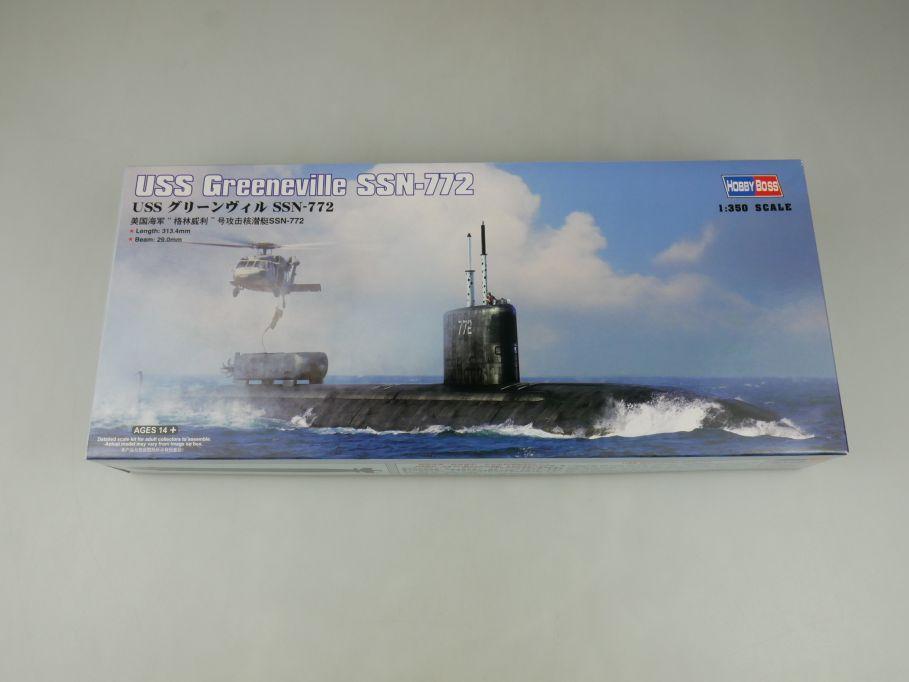 Hobby Boss 1/350 USS Greeneville SSN-772 subway U-Boot 83531 Kit Box 114606