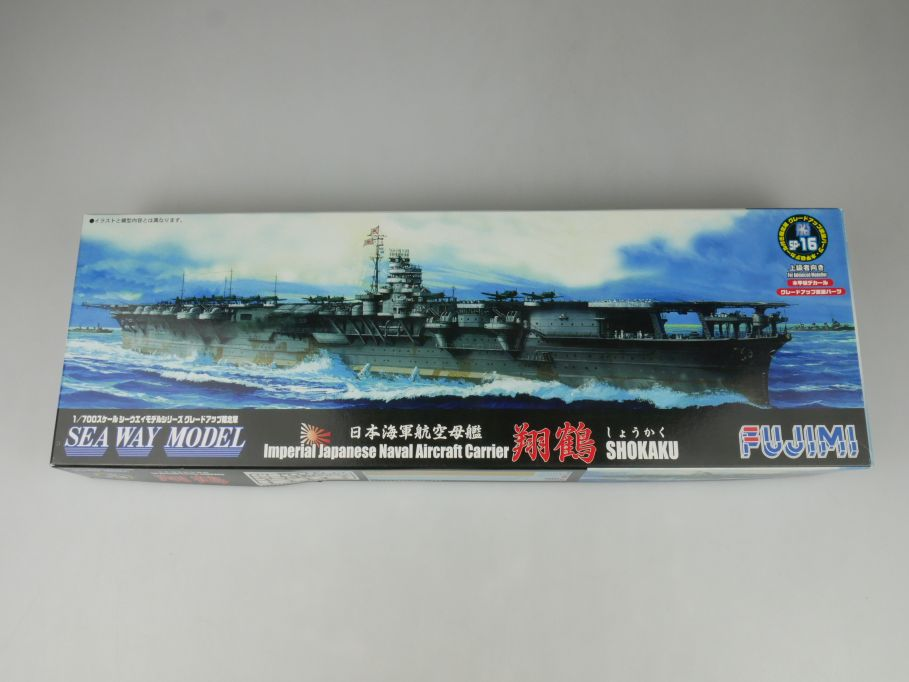 Fujimi 1/700 Sea Way Model SHOKAKU Imp. Japan. Naval Aircraft Carrier Kit 114610