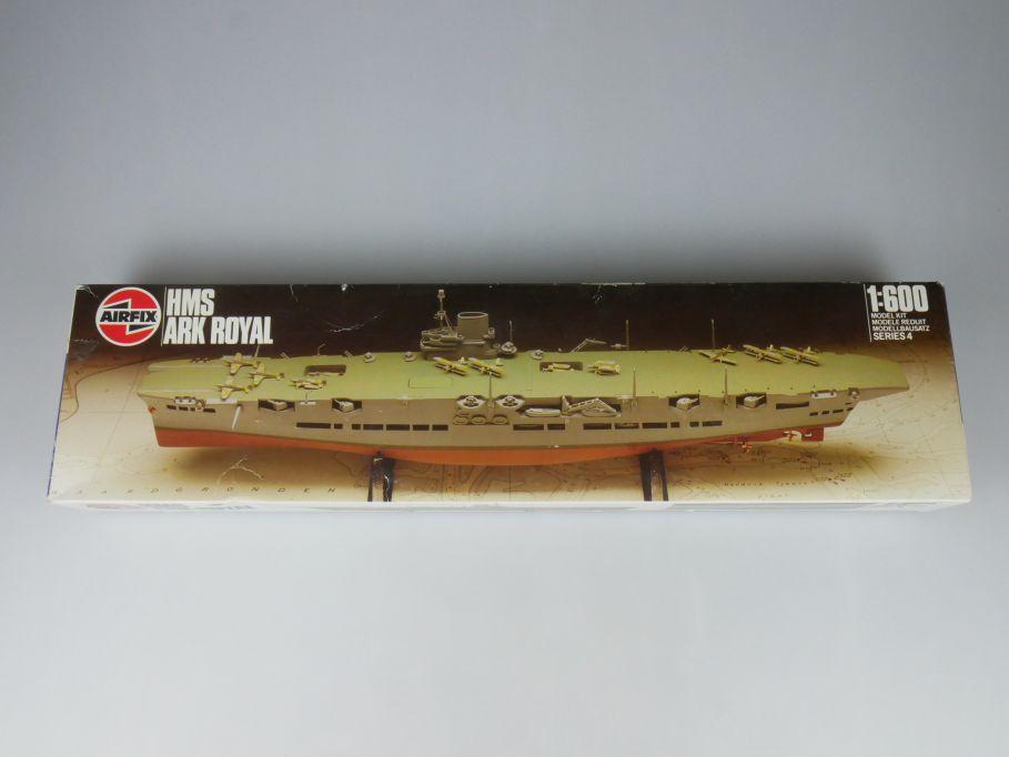 Airfix 1/600 HMS ARK Royal Flugueugträger aircraft carrier 04208 Kit Box 114617