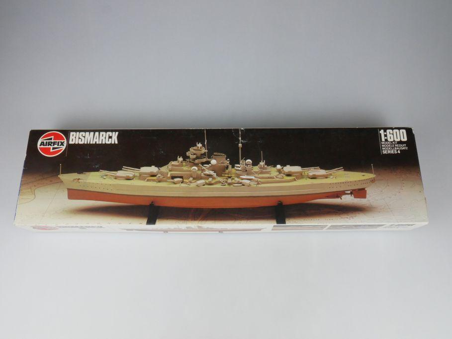 Airfix 1/600 Bismarck Deutsches Schlachtschiff battleship 04204 Kit Box 114618