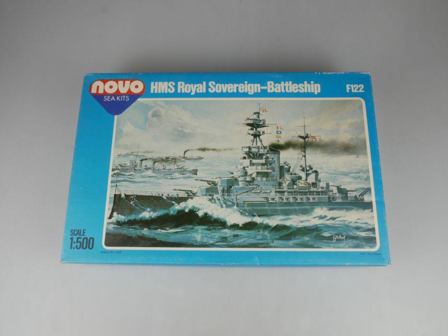 USSR Novo Sea kits 1/500 HMS Royal Sovereign Battleship Kit F122 + Box 115463