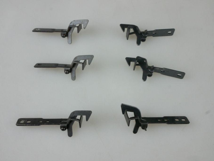 Hakenkupplung H0 für PIKO 6 Stück Kupplung PFR 114368
