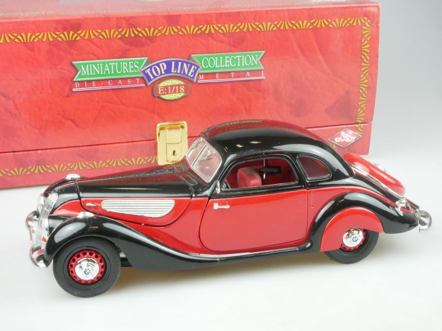 GUILOY 1/18 BMW 327 Coupe 1937 oldtimer diecast model 68560 + Box 114378