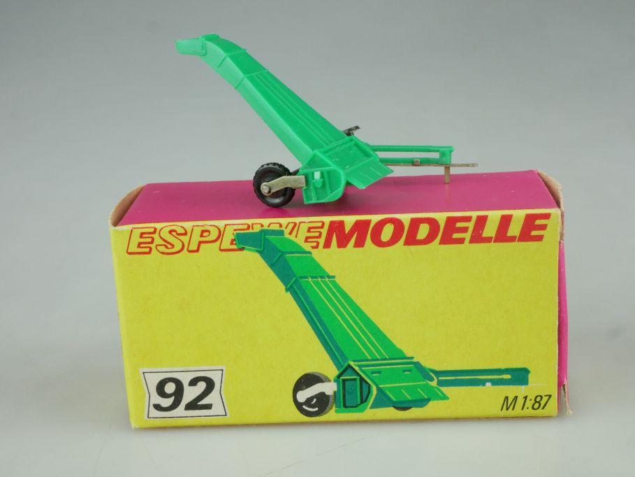 Espewe 1092 H0 1/87 Schlegelhäcksler E 069 92 DDR + Box 114444