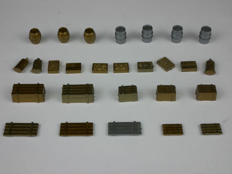 Wiking H0 Saure 1351 Typ 2 Ladegut Gold Silber 27 Teile 114552