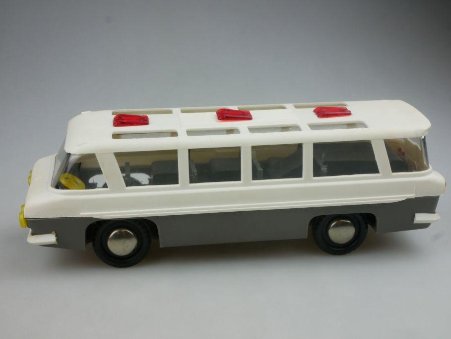 CCCP USSR Zil 118 Junost 1962 russian soviet toy bus 21cm w. friction 114543