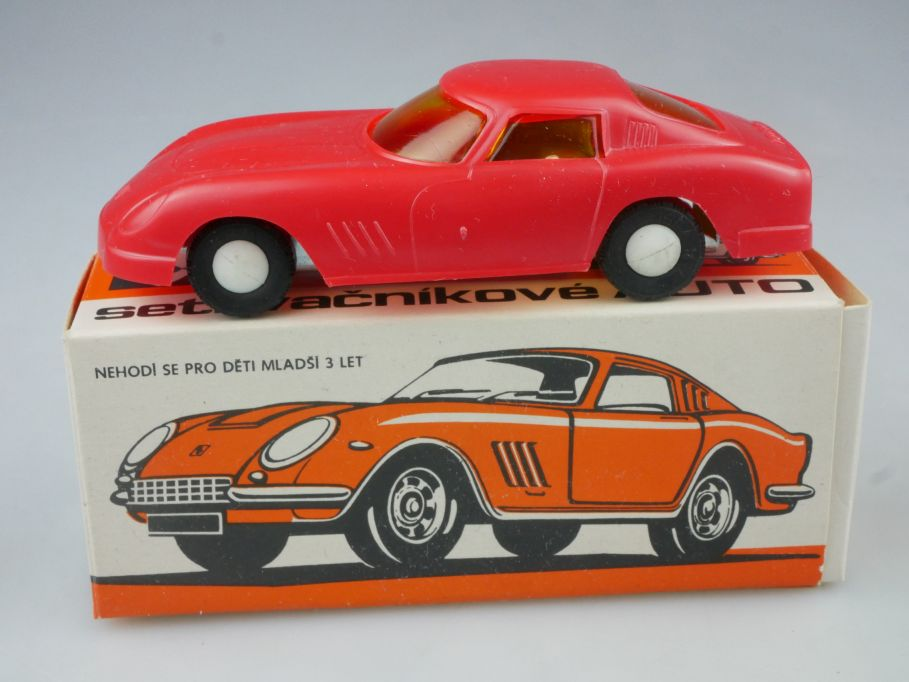 IGRA 1/43 Ferrari 275 GTB 4 Friction CSSR DDR sovier toy model + Box 114830