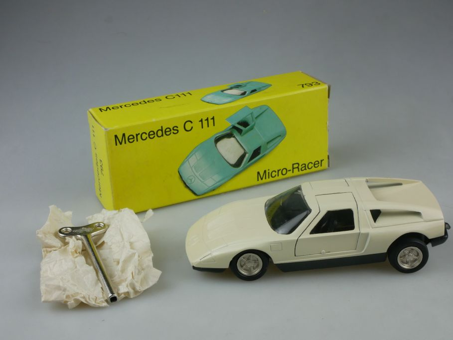 Nutz Automatic Racer 793 Mercedes C111 4 Scheiben Wankelmotor Uhrwerk Box 115251