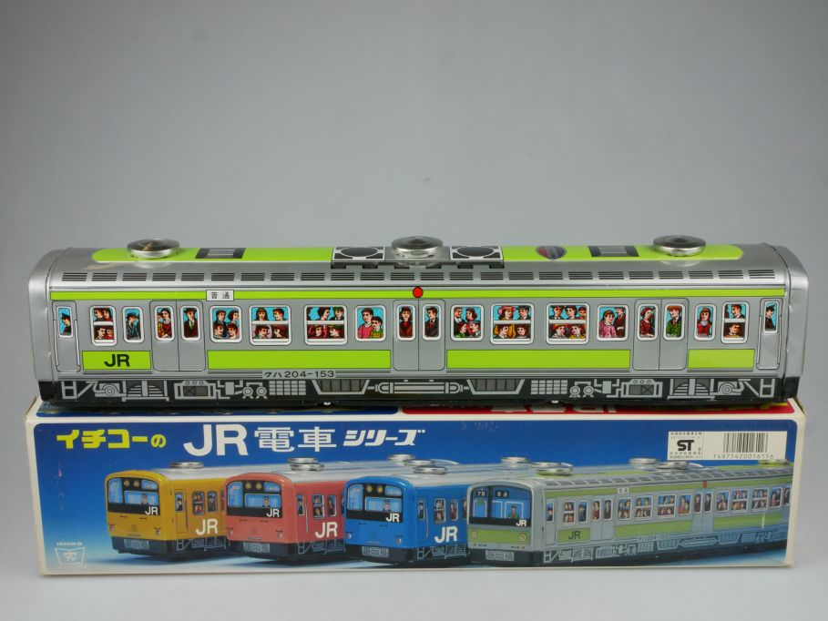 Ichiko 1611 Japan Blech Japanese Tin Toy E Train Vintage 44cm Bahn + Box 115315