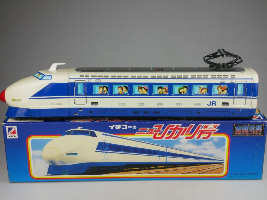 ICHIKO Japan Blech Shinkansen 100 48cm express Zug tin train Friktion Box 115317