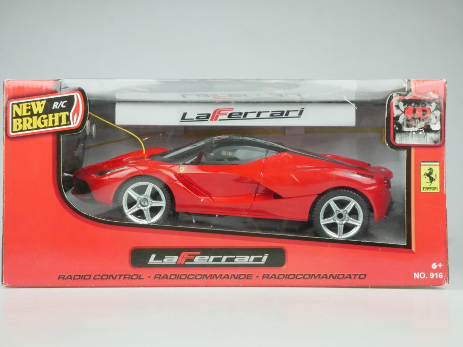 New Bright R/C La Ferrari 28cm RC Modell # 916 + Box 115336