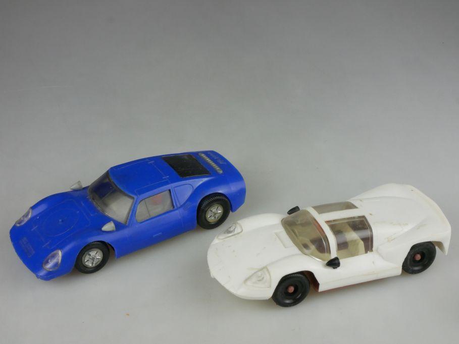 2x Prefo Melkus RS 1000 und Chaparral kein no slotcar 13cm VEB DDR 115431