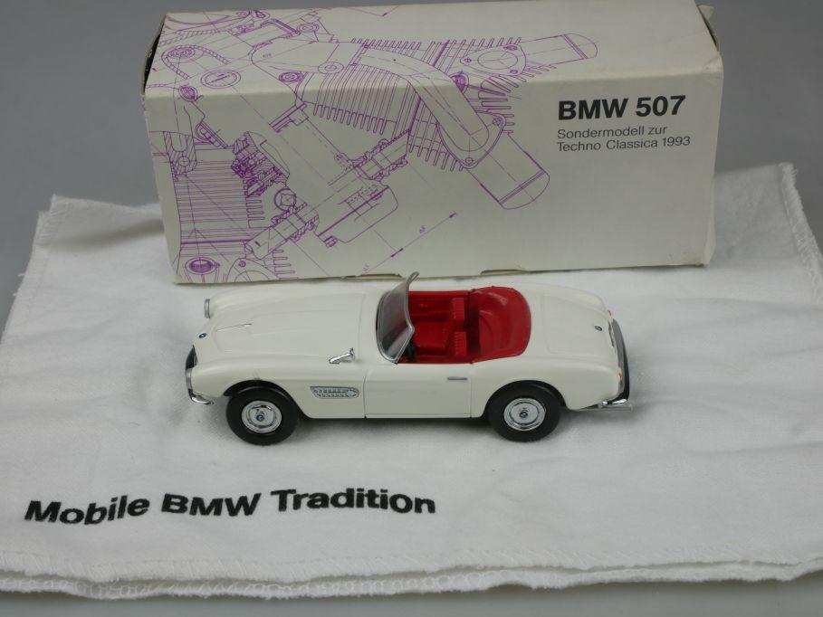 BMW 507 1/43 Sondermodell zur Techno Classica 1993 diecast Minichamps ? 115445
