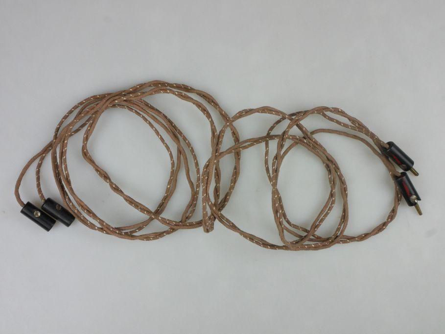 Märklin Spur 0 / 1 Kabel ca. 2m 13532/22 Stoff umspannt PFR 115482