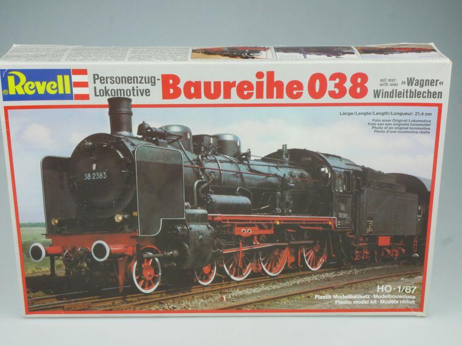 Revell 1/87 H0 Lokomotive BR 038 Dampflok Lok kit 2163 Bausatz + Box 115504