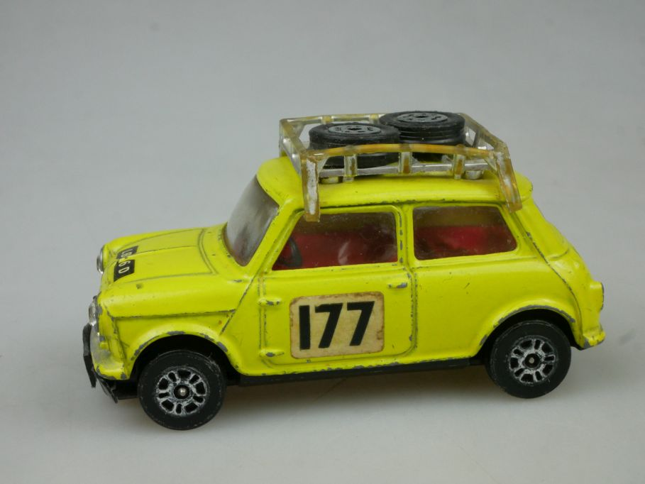 Corgi Toys 308 BMC Mini Cooper S 177 Rallye Monte Carlo vintage diecast 115587
