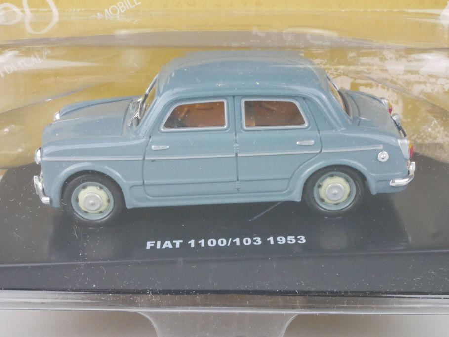 1/43 Fiat 1100/103 1953 diecast Modell DeAgostini + Box 115623