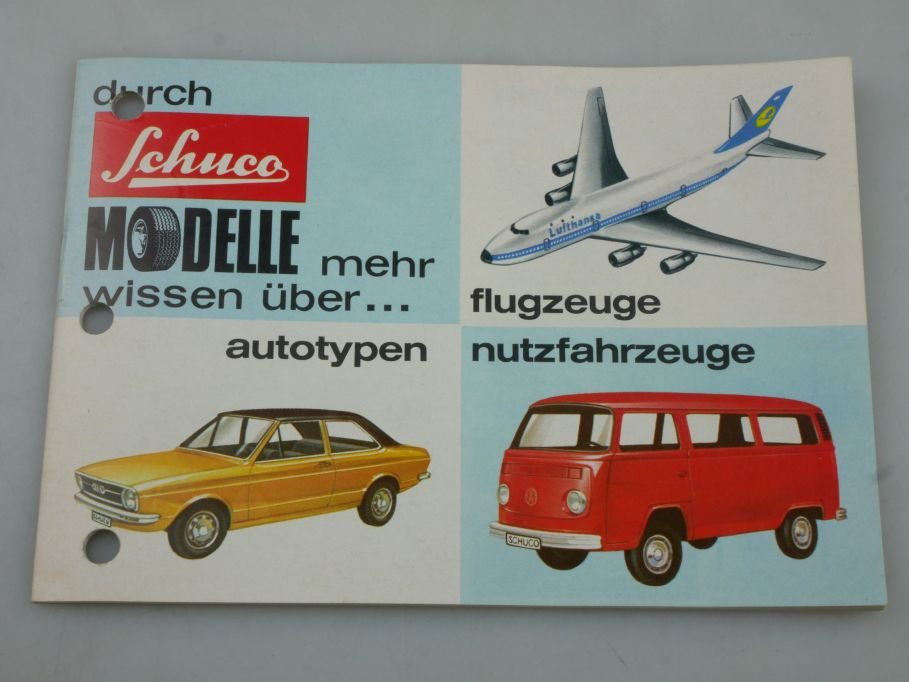 Schuco 1970er Jahre Katalog 28 S. catalog 1/66 Sammler 115957