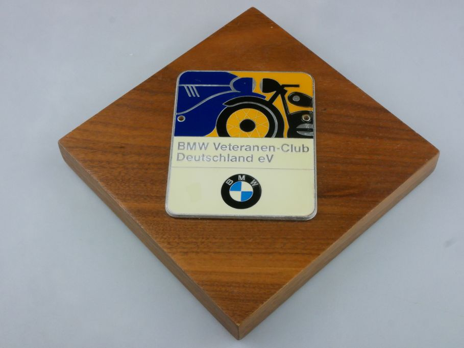 BMW Veteranen Club Deutschland e.V. Clubmitglieder Plakette badge 115793