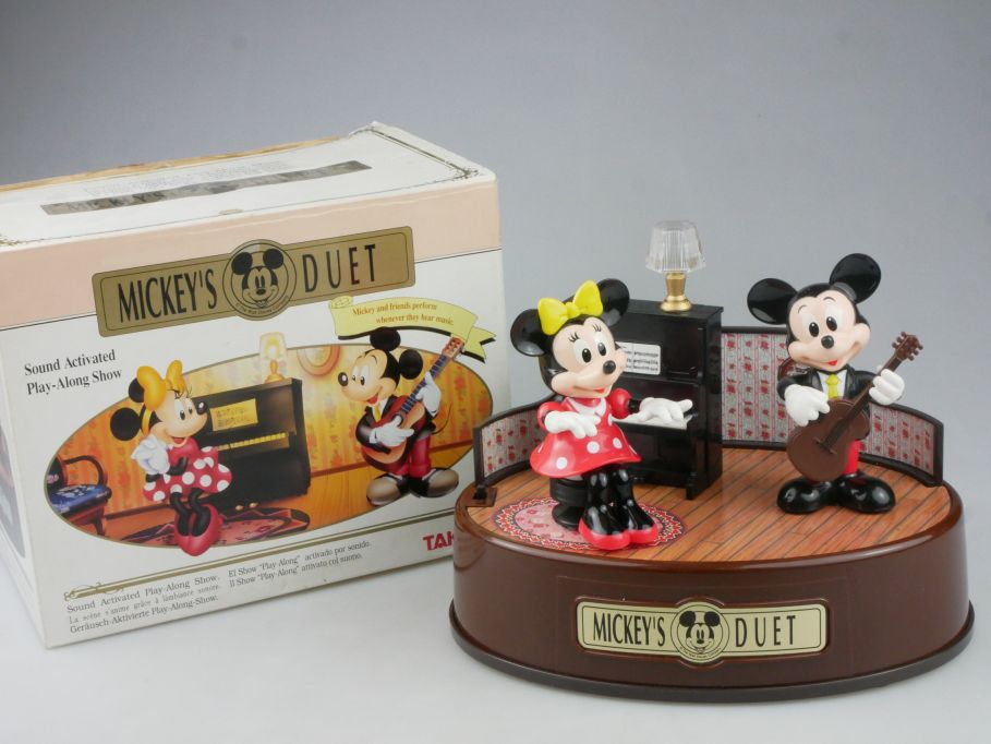 Mickey´s DUET Mini Mouse Musik bewegt Sound activated moves Takara Box 115794