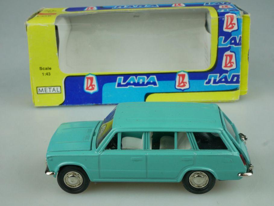CCCP USSR 1/43 Lada VAZ 2102 Novoexport russia model + Box 116061