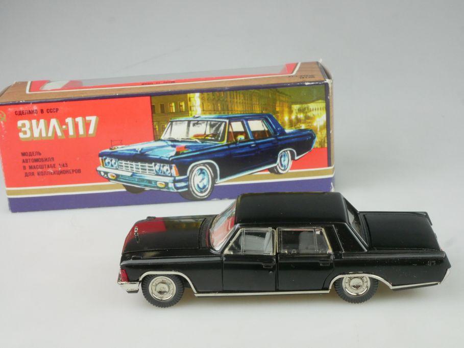 CCCP USSR 1/43 Zil 117 soviet car Novoexport + Box 116310
