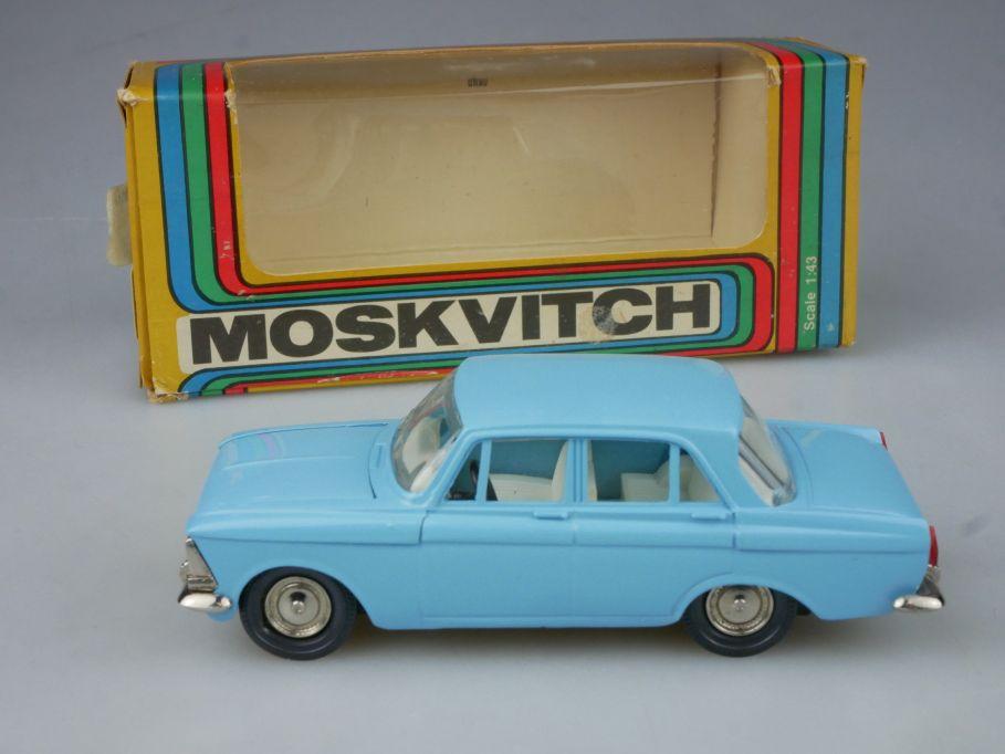 CCCP USSR 1/43 Moskvitch 412 A2 Novoexport Tantal Moskvich Москвич + Box 116336