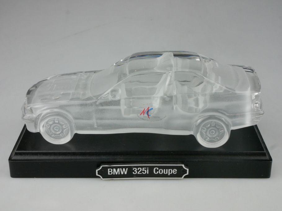 Kristallglas BMW 325i Coupe E36 18cm Magic Cristal W. Germany Holz-Sockel 116401