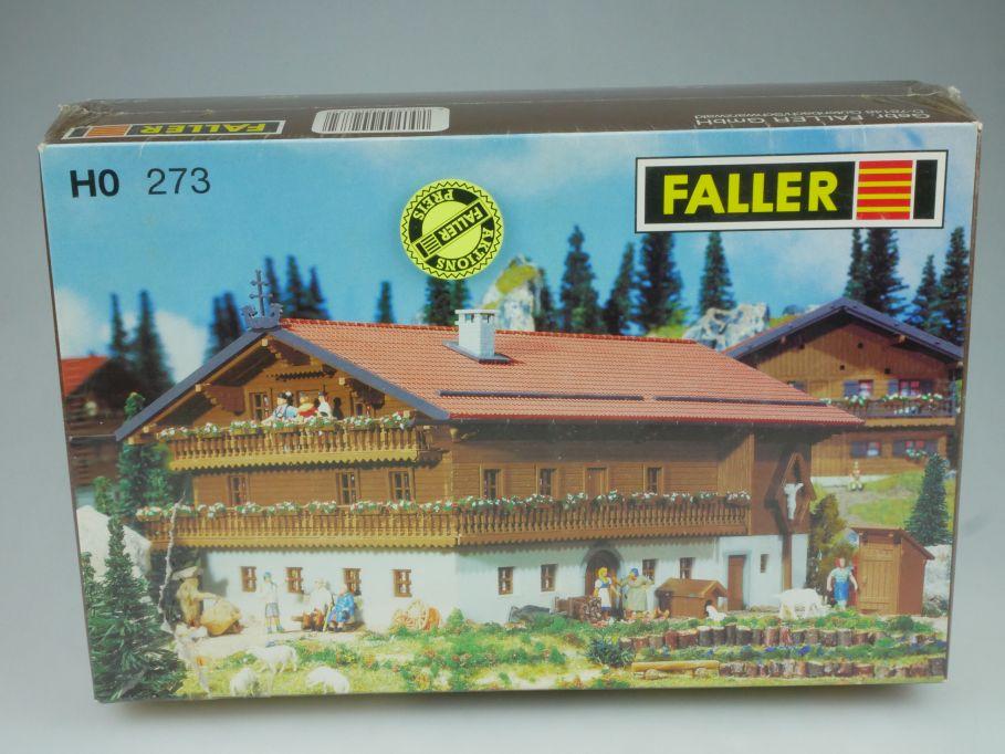 "Faller H0 273 Alpengasthaus "" Zum Almdudler "" alpine inn Bausatz Kit Box 116468"