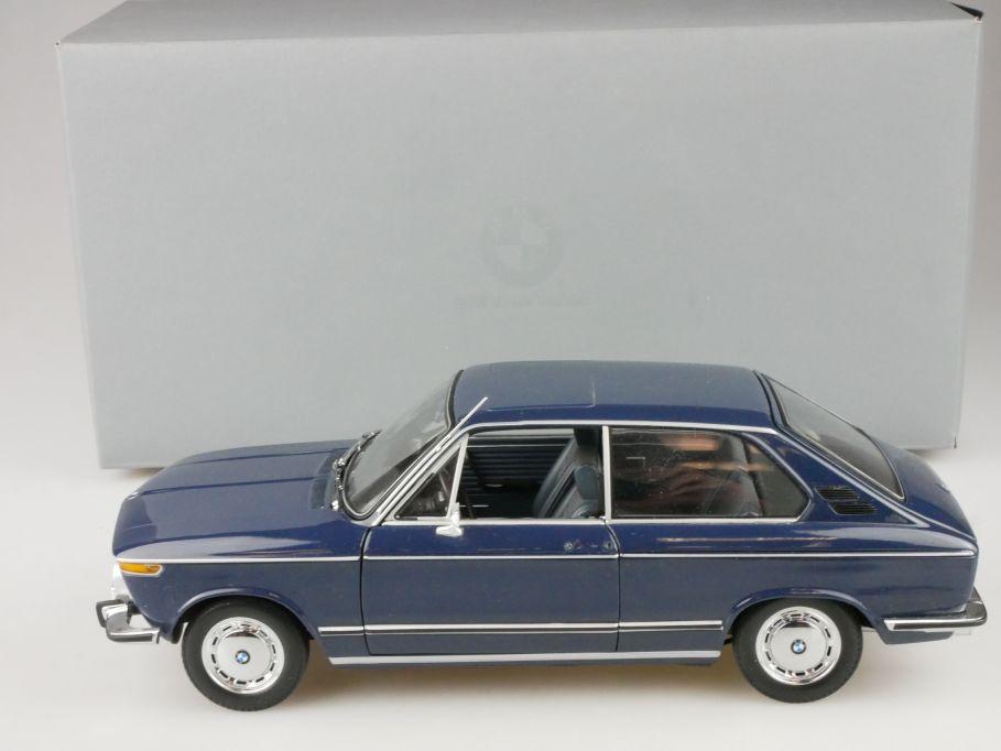 Minichamps 1/18 BMW 1600 touring E6 1971-73 diecast 80430145823 + Box 116477