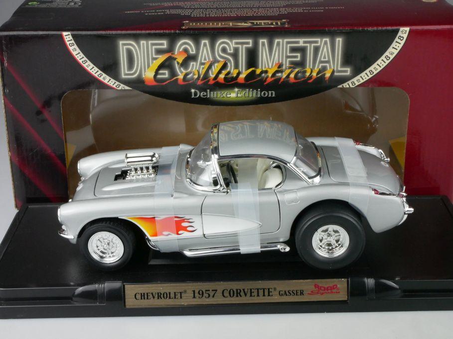 Road Signature 1/18 1957 Chevrolet Corvette GASSER yatming 55/3/0863 Box 116526
