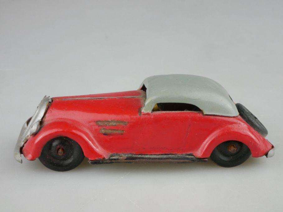 GNOM 811 Roadster Verdeck Blechspielzeug repainted german tin toy Lehmann 116725