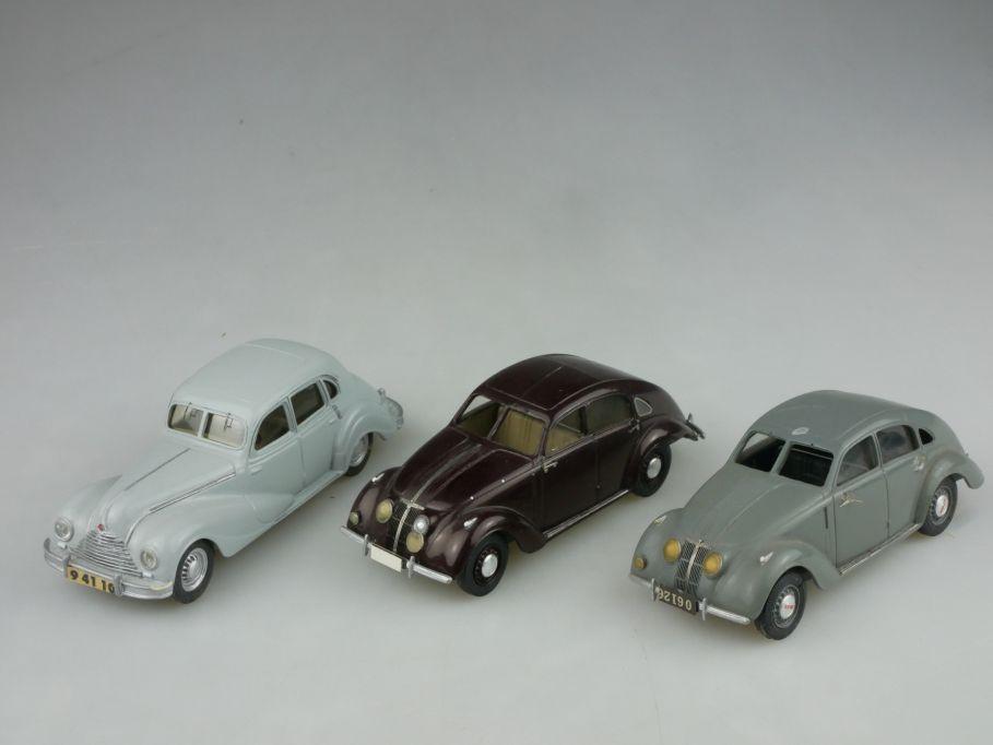 3x adp 1/43 EMW 340 Autobahn 1938 Adler Autobahn Coupe resin handbuilt 116936