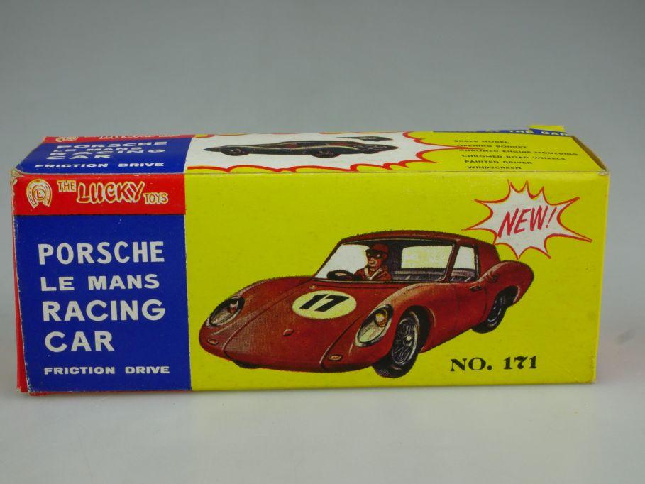 Lucky Toys Hong Kong LEERE EMPTY BOX Porsche Le Mans Racing 171 Friction 117770