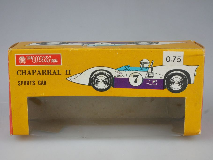 Lucky Toys Hong Kong LEERE EMPTY BOX Chaparral II Sports car 197 Friction 117771