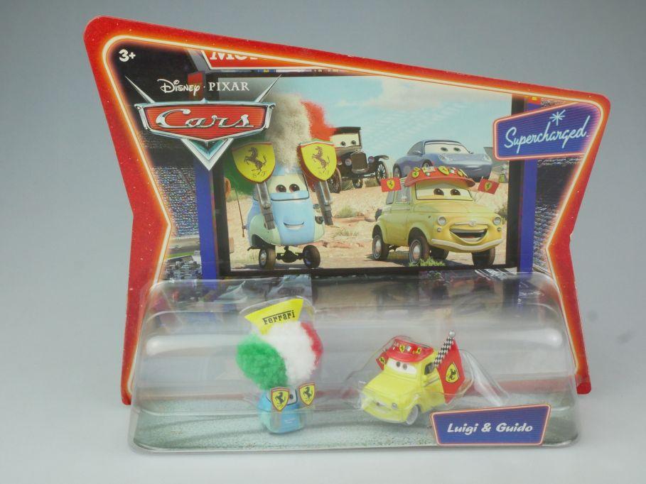 Disney Pixar Cars Luigi & Guido movie toy car Mattel + Blister 117786